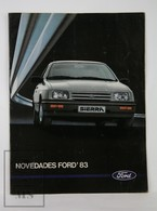 Vintage 1983 Ford Spanish Advertising Sales Brochure/ Catalogue - Motos