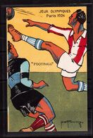 Olympic Games-1924,Paris, Postcard, Football, Soccer, Fussball,calcio - Summer 1924: Paris
