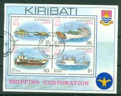 Kiribati: 1984   Kiribati Shipping Corporation  M/S  Used - Kiribati (1979-...)