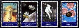 SAMOA. N°886-9 De 1999. L'Homme Sur La Lune. - Space