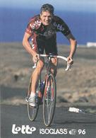 CYCLISME  THOMAS FLEISCHER  (LOTTO ISOGLASS) - Cyclisme