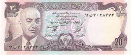 AFGHANISTAN 20 AFGANIS 1975 PICK 48b UNC - Afghanistan