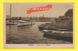 CPA 49 ANGERS Bateaux ( Requin Voiliers Barques ) - Angers