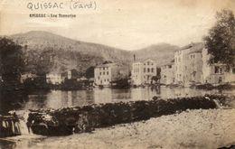 CPA - QUISSAC (30) - Aspect Des Tanneries En 1927 - Quissac