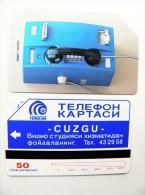 Phone Card From Uzbekistan Magnetic Urmet 50un. Telephone - Uzbekistan