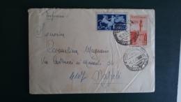 STORIA POSTALE.BUSTA.ITALIA.REPUBBLICA.AFFRANCATURA MISTA.ESPRESSO.AVVENTO..MANOSCRITTO.LETTERA.148 - 6. 1946-.. Republic