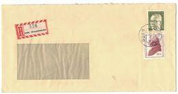 N196   Bund - R-Brief 1974 Wendelsheim - Heinemann, Immanuel Kant - Cartas