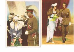 3 Prenten Koninklijke Familie - Familles Royales