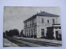 CUREGGIO. Stazione F.F.S.S. Viaggiata - Other Cities