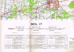 MOL Stafkaart - Cartes Topographiques