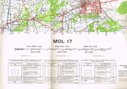 MOL Stafkaart - Topographical Maps