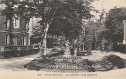 18 / 2 / 24  -   NANTERRE  -  LA  MAIRIE  ET  LE  SQUARE  ( 92 ) - Nanterre