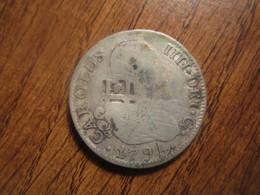1795 CUBA COUNTERMARK ON SPANISH 2 REALES - Cuba
