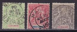 Indochine N°17,18,19 - Indochina (1889-1945)