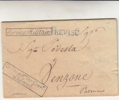 Francesi In Italia, Treviso Per Venzone, Division Au De La Des Alpes. Garin Agent En Chef.1810 - Italia