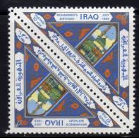 IRAK - 1965 - N°418  (x2) ** Prophète Mahomet - Iraq