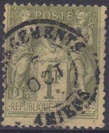 """Amiens (Somme) : Càd 15 """"Chargements"""" Sur Sage N°82. - 1876-1898 Sage (Type II)"""