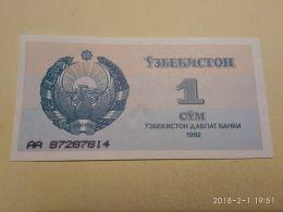 1 Sum 1992 - Uzbekistan