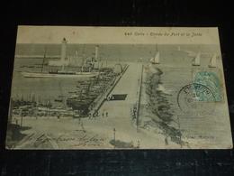 SETE Ou CETTE - Entrée Du Port Et La Jetée - 34 HERAULT (Y) - Sete (Cette)