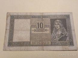 10 Dinari 1941 - Serbia