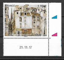 France 2018 - Yv N° 5200 ** - Léonard Foujita (Le Quai Aux Fleurs, Notre-Dame) - Coin Daté - Mi N° 6943 - Unused Stamps
