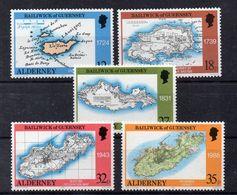 GUERNESEY   Timbres Neufs ** De 1989 ( Ref 4952 ) Cartes - Guernsey