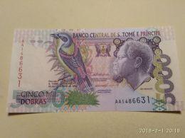 5000 Dobras 1996 - San Tomé E Principe