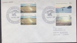 AAT 1988 Heard Island  Cover Ca 18 Oct 1987 (37449) - Briefe U. Dokumente