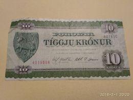 10 Kronur - Féroé (Iles)