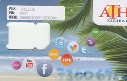 Kiribati - ATH - GSM SIM (frame) - Kiribati