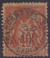"""Carcassonne (Aude) : Càd 15 """"Chargements"""" Sur Sage N°94. - 1876-1898 Sage (Type II)"""
