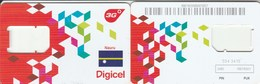 Nauru - Digicel - GSM SIM (frame) - Nauru
