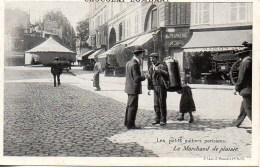 75 Les Petits Métiers Parisiens:  Le Marchand De Plaisir - Petits Métiers à Paris