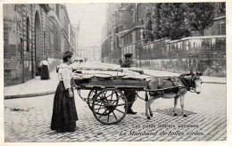 75 Les Petits Métiers Parisiens:  Le Marchand De Toiles Cirées - Petits Métiers à Paris