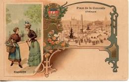75 PARIS  Bouquetière (carte Illustrée) - Petits Métiers à Paris