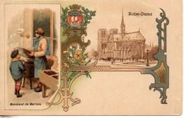 75 PARIS  Marchands De Marons  (carte Illustrée) - Petits Métiers à Paris