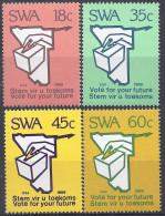 SUD OUEST AFRICAIN - Participation électorale - Africa Del Sud-Ovest (1923-1990)