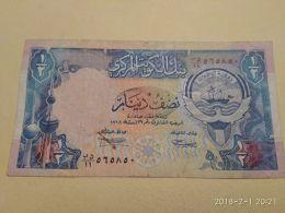 1/2 Dinaro 1968 - Kuwait