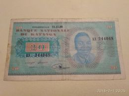 20  Francs 1960 - Banconote