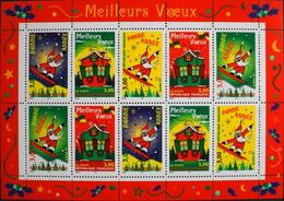 FR. 1998 - BLOC & FEUILLET N° 21 Meilleurs Voeux - 10 TIMBRES NEUFS** 30,00F - TB - Blocs & Feuillets