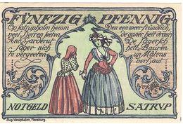 Deutschland Notgeld 50 Pfennig Mehl1168.1 SATRUP /22M/ - Lokale Ausgaben