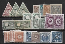 Austria Lot Newspaperstamps/postage Due - Nuovi