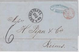ALLEMAGNE 1862 LETTRE DE BREMEN - [1] Prephilately