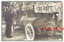 Photo Automobile, Course De Côte Du Mont Ventoux , Meeting 1910, Gasté Sur Rossel, Bédoin, Malaucène ? - Automobiles