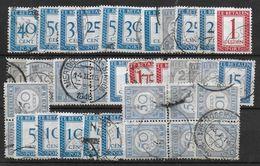 Netherlands Postage Due Lot - Tasse