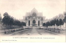 ***  61  ****  LA CHAPELLE MONTLIGEON  église Des Ames Délaissées Superbe Précurseur Neuf/unused TTB - Sonstige Gemeinden