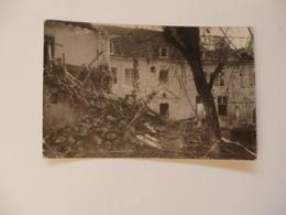 """Carte Photo De Oulchy-le-Château. Il Est écrit """"Je T'envoie La Photographie Du Presbytère"""". - France"""