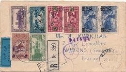 Lettre Recommandée Liban Hammana Pour La France - Liban