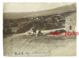 Photo Automobile, Meeting / 1ere Course De Côte Du Mont Ventoux 1902, Virage St-Estève, Cottin Desgouttes - Automobiles