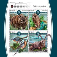 SOLOMON Isl. 2017 - Extinct Species, Owl - Uilen